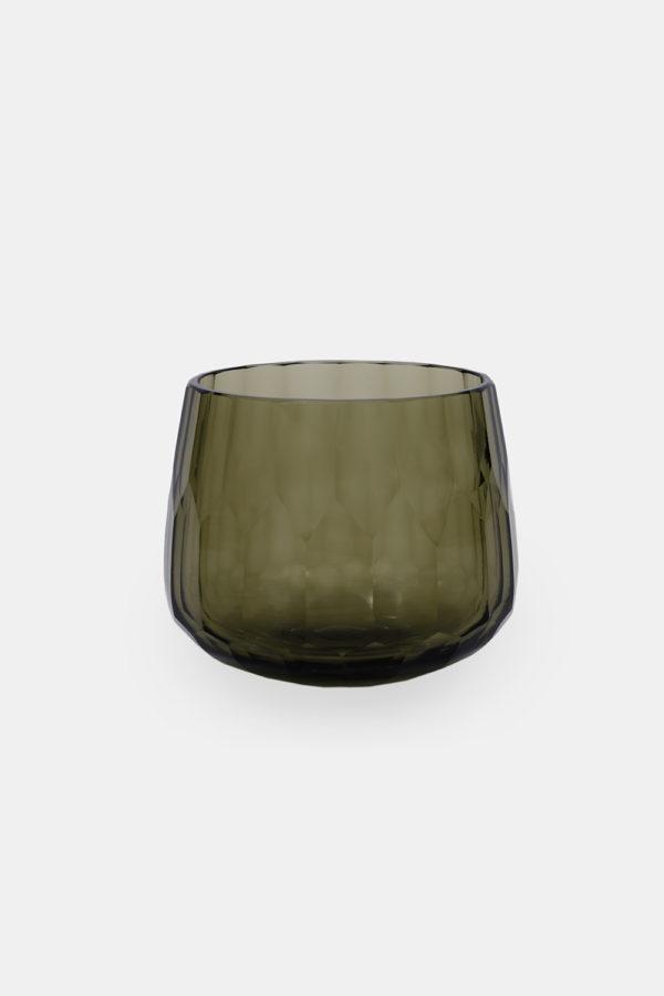 Drake skål, grøn glas bowle af Klassik Studio