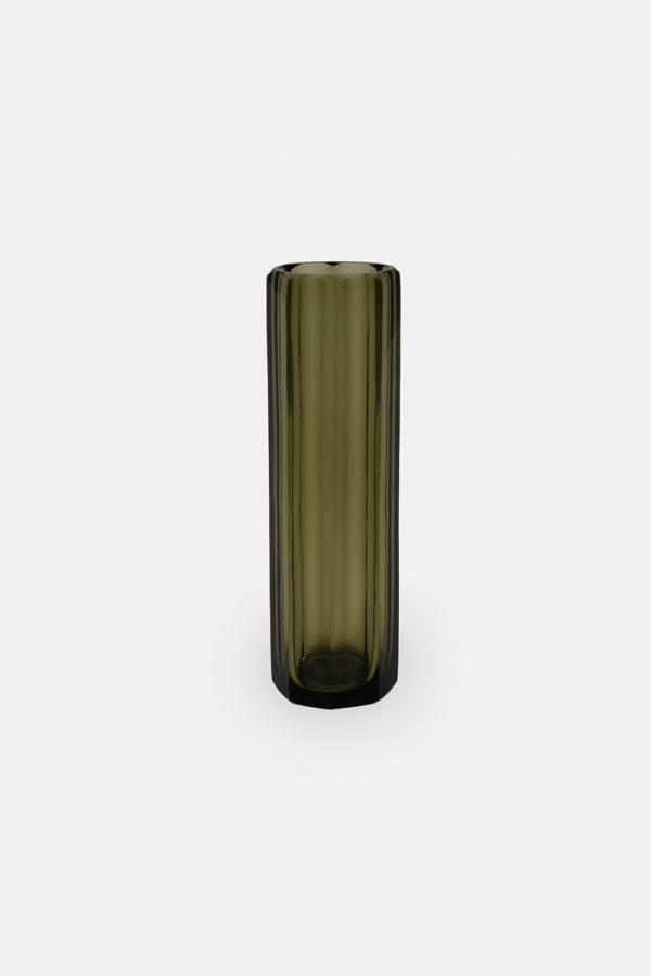 Marni 22 glasvase i grøn, H: 8,5 cm Ø: 8,5 cm